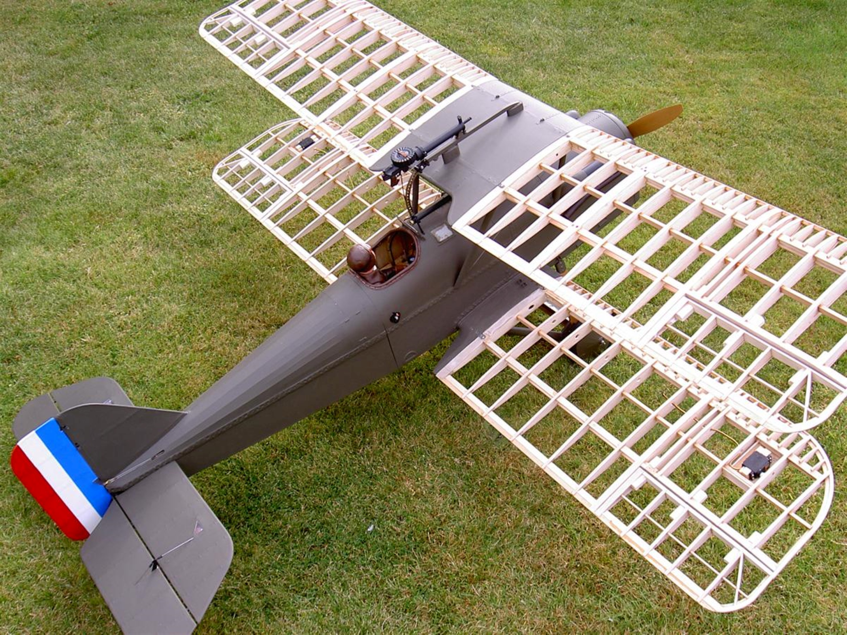 SE5A Build Progress - Roger Jones