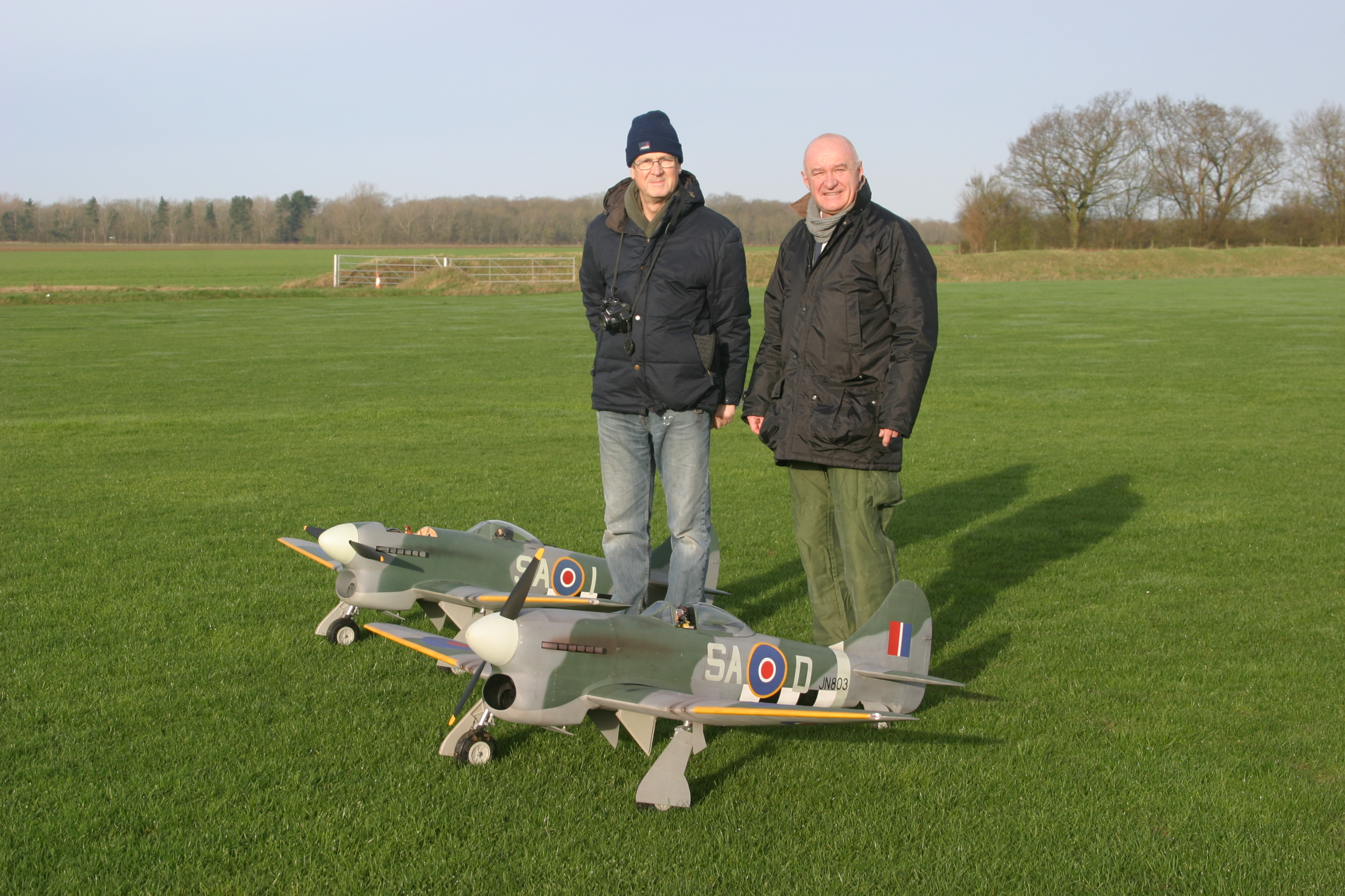 Hawker Tempest's - John and Tony