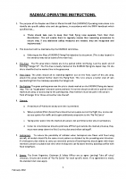 RADMAC Operating Instructions (Feb 2018)