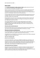 RADMAC Privacy Notice