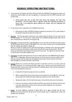RADMAC Operating Instructions (Oct 2019)